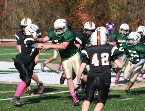 5th and 7th grade nashoba youth football teams head to the playoffs