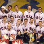 USA Deck Hockey Team Takes Silver
