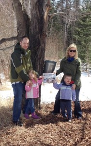 The Heroux family of Stow took the Stow Independent on their visit to the Bisson Maple Syrup farm for the last run of the season