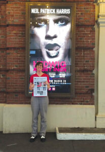 aLiza Mattison traveled to New York City to see Neil Patrick Harris in Hedwig and the Angry Inch