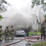 House Fire on Hudson Road, Stow
