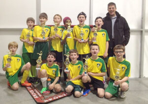 BU12 indoor champs.                                                                                                                       Courtesy
