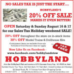 Hobbyland Stow… August 13 2014
