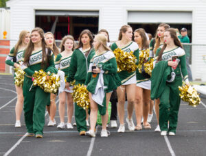Nashoba Varsity cheerleaders.                                                                               Adrian Flatgard; frequentflyerphotographer@gmail.com