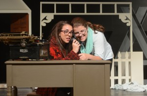 Marianna Sardella (l) as Cousin Eustace) and  Jackie Cannon (Cousin Tilly).  Jonathan Daisy; DaisyDesignPhotography.com