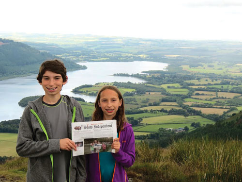 Marc and Ally Descoteaux visited the Lakes District while traveling in England this past July.