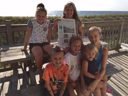 The Gagne and Hollister clan enjoyed a great vacation at Bethany Beach Delaware!