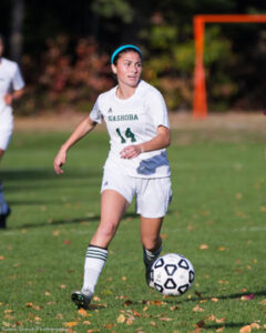 Katie Piccioli at Oct. 20 game against Shepherd Hill.                                  SusanShaye.com