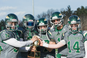 Nashoba once again took home the Thanksgiving day game trophy susanshaye.com