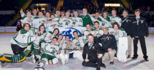 Hockey Earns Back-to-Back State Trophies…March 23 ,2016