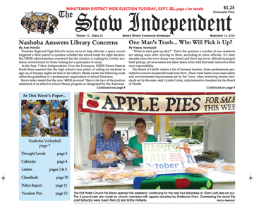 In this week's Print Edition…Sept. 14, 2016