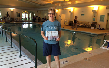 Laura Diamond went to Tucson AZ to be a Lab Assistant for the CAPTCC - Certificate in Aquatic Physical Therapy Clinical Competency  course sponsored by the American Physical Therapy Association - Aquatic Section.