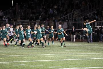 Girls Soccer Wins Division 1 Title…Nov. 16, 2016
