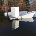 Plane Goes Down in Assabet River…Nov. 9, 2016